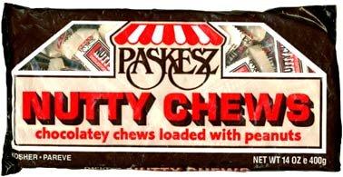 Paskesz BG17000 Paskesz Nutty Chews - 24x14OZ