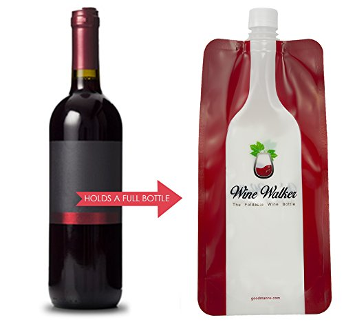 Unbreakable Foldable Wine Bottle 2go