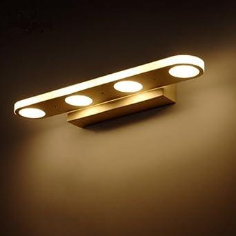 Mabor Badezimmerleuchten Vanity Licht, 12W Spiegellampen Anti-Fog ...