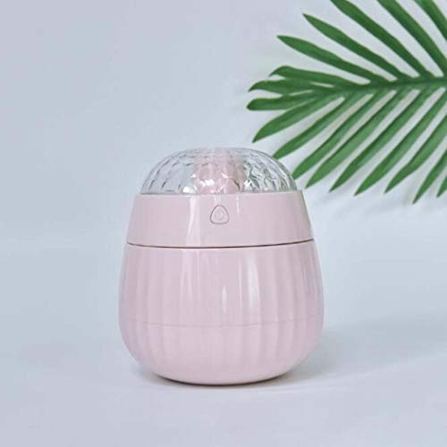 Dreams Of Lamp Mist (XYANZ Mini USB Humidifier with Night Light, Portable Aroma Diffuser, Ultrasonic Humidifier with Projection Lamp,Pink)