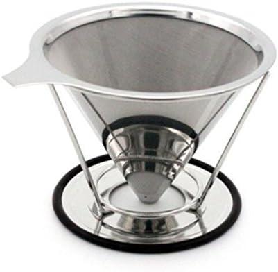 vinmax Filtro de café de acero inoxidable taza vierta sobre ...