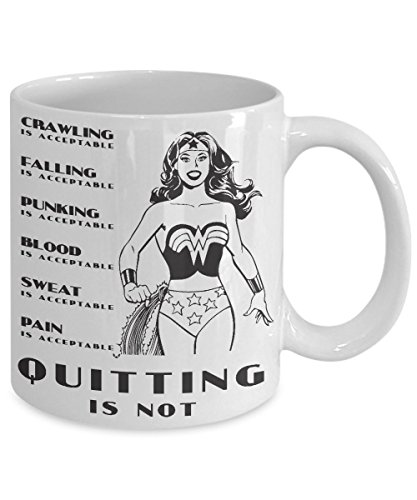 Quitting Is Not Acceptable Coffee Mug (15oz)