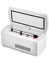 ixaer Insulin Cooler Case-Portable Insulin Cooler Refrigerated Box / Drug Reefer / Car Small Refrigerator