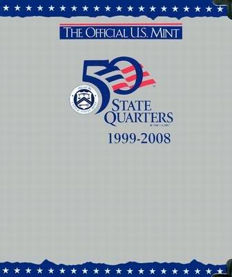 Whitman State Album Quarter (The Official U.S. Mint 50 State Quarters P & D Album [OFF US MINT 50 STATE QUARTER])