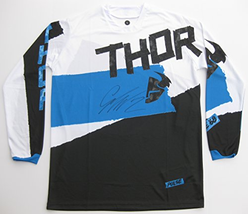 Cooper Signed Photo - Cooper Webb, Supercross, Motocross, Freestyle Motocross, Signed, Autographed, Thor Jersey, a COA with the Proof Photo of Cooper Signing Will Be Included..