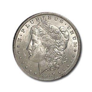 1887-O Morgan Silver Dollar - MS-61 ()