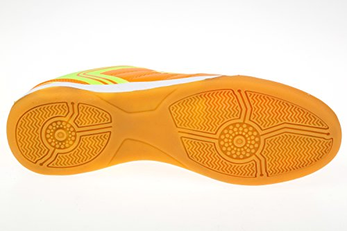 gibra® Zapatos de deporte hombre, para el gimnasio, neón, talla 41–