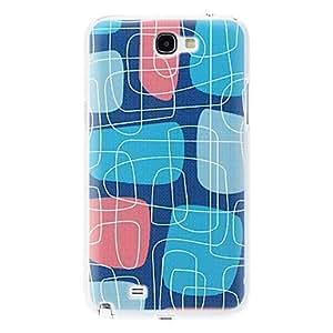 JJE Maze Pattern Hard Case for Samsung Galaxy Note 2 N7100