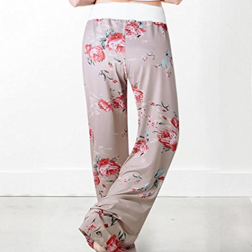 Casual Over Boot Style Cordon SANFASHION Jogging Moderne Pants Longue Fitness Pantalon Yoga Imprim Pantalons All Rose Doux Femme en Khaki qXx8wSz