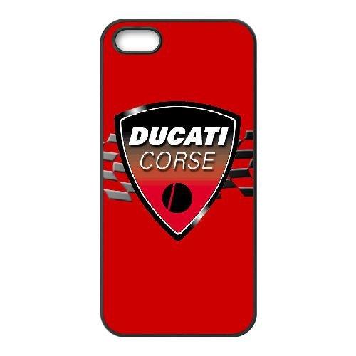 Cover iPhone 5 5s 5se Cell Phone Case Black ducati corse L8V5GW