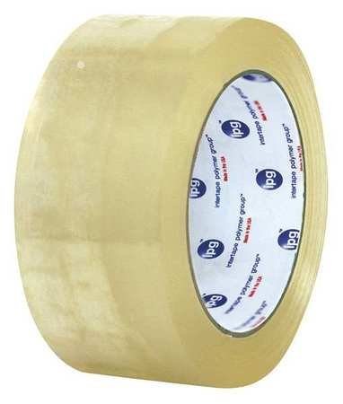 Carton Tape, Clear, 3 In. x 60 Yd., PK24 by IPG