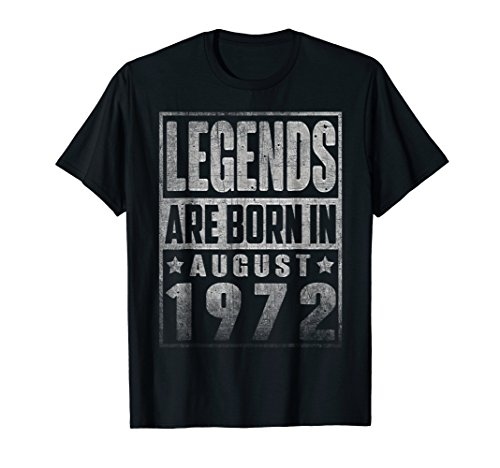 Legends Born In AUGUST 1972 Straight Outta Aged 46 Years Old