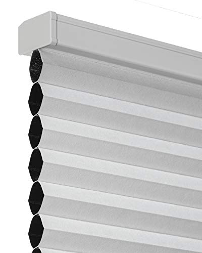 CHICOLOGY Custom Cordless Cellular Shades, Premium & Blackout Window Treatments for All Rooms/Bedroom/Nursery/Office & More:58W X 48H, Cotton