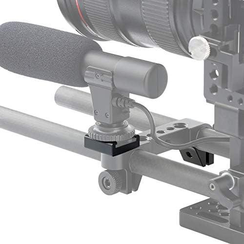 Monitors Shotgun Mic Rode Videomicro-5 Packs 1//4 Cold Shoe Mount Adapter Camera Flash Shoe Mount for Camera DSLR Led Lights