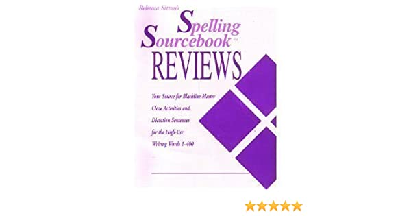 Rebecca Sitton's spelling sourcebook reviews: Your source for ...