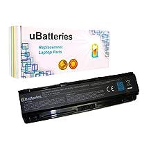 UBatteries Laptop Battery Toshiba Satellite C805 C840 L70 L70D L75 L75D L800 L805 L830 L835 L840 L840D L845 L845D L850 L850D - 9 Cell, 6600mAh
