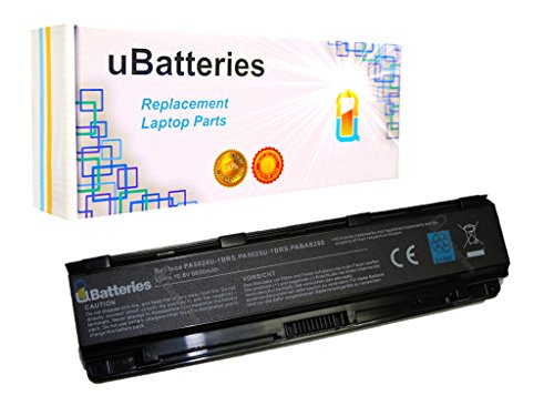 UBatteries Compatible 71Whr Battery Replacement for Toshiba Part# PA5024U-1BRS PA5025U-1BAS PA5026U-1BRS for Satellite S850 S850-B S855 S855D S870 S875 S875D Series