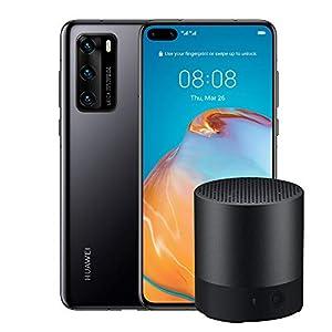 """HUAWEI P40 con Bluetooth Speaker, Acoustic Display da 6.1"""", Tripla Fotocamera Leica da 50 + 16 + 8 MP, Kirin 990 5G Octa Core, Nero, Versione Italiana 1 spesavip"""