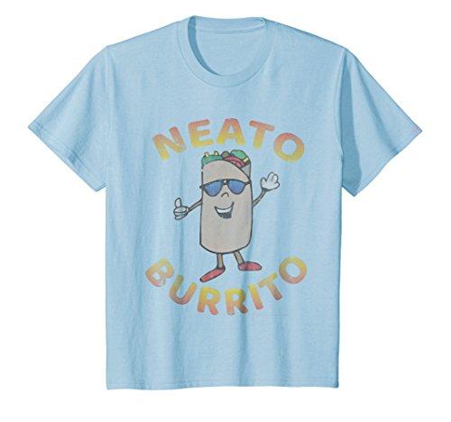 Price comparison product image Kids Neato Burrito - I love funny burrito shirts for women, men 4 Baby Blue
