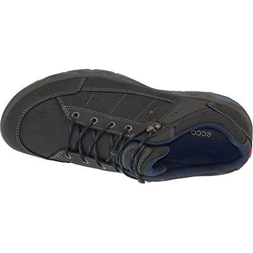 Ecco Hombre Zapatillas tiempo libre Ulterra Dhaka HM Low Negro / 823154 70608 negro