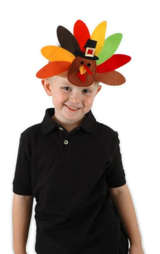 [Elope Turkey Headband] (Women Turkey Costume)