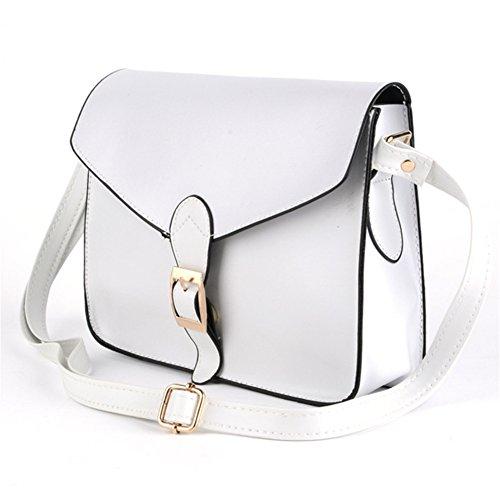XMLiZhiGu White Bag Envelope Small Women New Package Shouder Crossbody rqxr8Z1