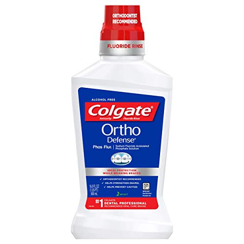 Colgate Phos Flur Anti Cavity Fluoride Rinse, Mint, 16.9 Ounce