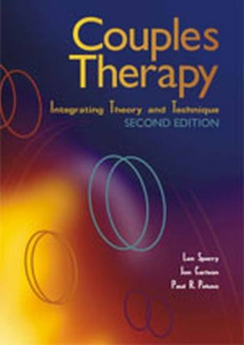 Couples Therapy: Integrating Theory and Technique
