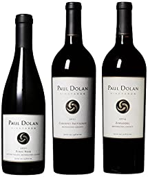 Paul Dolan Best of Mendocino Organically Grown Red Wine Mixed Pack, 6th Edition, 3 x 750 mL
