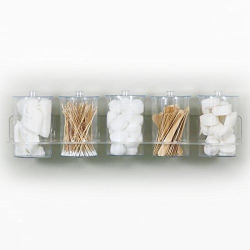 plastic bathroom jars - 7