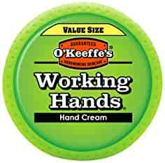 O'Keeffe's K0680001  Working Hands Hand Cream Value Size, 6.8 oz., Jar