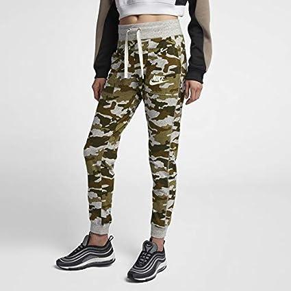 wholesale dealer newest collection authentic quality Nike Pantalon de Sport pour Femme Gym Vintage Camo L Olive ...