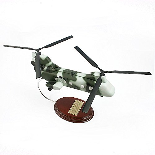 Mastercraft Collection CH-46 Sea Knight Marines Helicopter Model Scale: 1/45 (Marine Scale Collection)