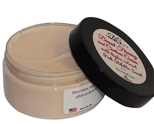 Chest Firming and Contour Cream With Kigelea Extract, 8oz By Diva Stuff by Diva Stuff