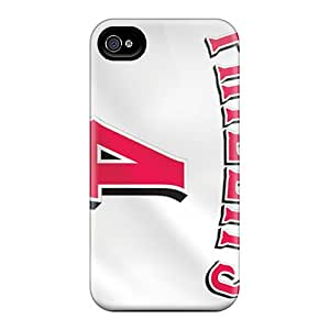 First-class Case Cover For Iphone 4/4s Dual Protection Cover Cincinnati Reds