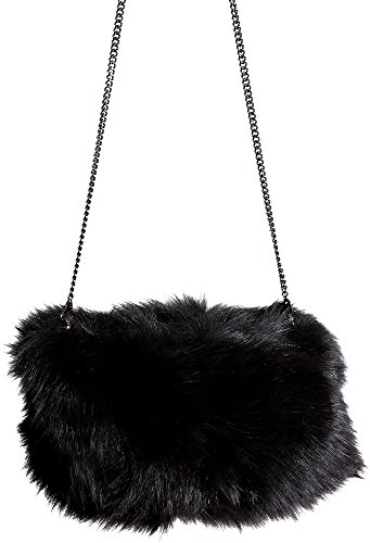 Fox Fur Muff Clutch Shoulder Bag by Overland Sheepskin Co