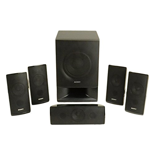 Sony BDVE385 Theater System Speakers product image