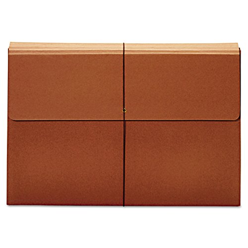 Globe Weis Expanding Wallet, 3 1/2 Inch Expansion, 12 x 18, Brown (Globe Weis Expanding Wallets)