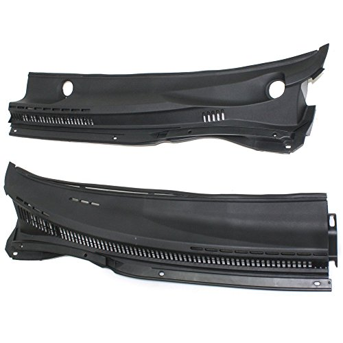 Wiper Cowl Grille for COROLLA 03-08 PANEL One Set (Right and Left included) w/Cold Climate Spec ()