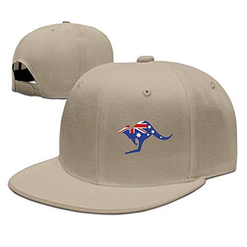 Custom Adjustable tiene Sports Snapback hip tiene Size Kangaroo Australian Unisex One de Flat hop Flag Bag Cd5xFnHqC
