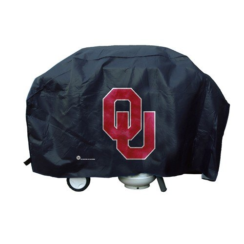 NCAA Oklahoma Sooners Vinyl Padded Deluxe Grill Cover