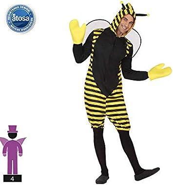 Atosa-63322 Atosa-63322-Disfraz Abeja-Adulto Hombre, Color ...
