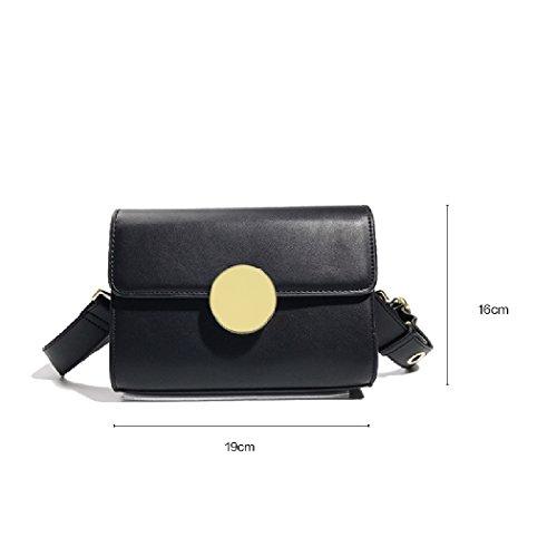 Petit sac capacité Boucle Black Portable main Grande à à Sac métallique Messenger bandoulière BENJUNSac xn8qpYaw01