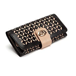 WOLF 301402 Chloe Jewelry Roll, Black