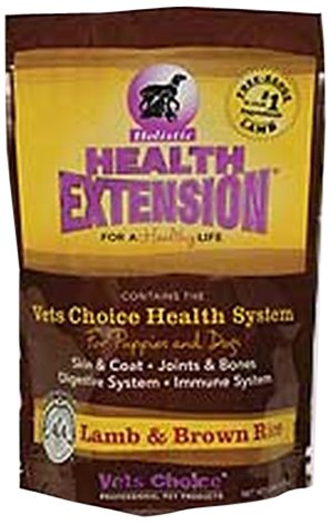 Health Extension 858755000536 Lamb and Brown Rice, 15-Pound, My Pet Supplies