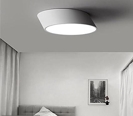 Lámparas de techo decorativas Sencilla circular moderna ...