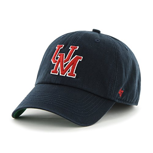 '47 NCAA Mississippi Ole Miss Rebels Franchise Fitted Hat, Navy 2, X-Large