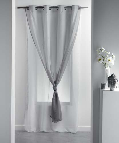 Cortinas blancas y negras cortina de ducha dotz chevron for Cortinas blancas y negras
