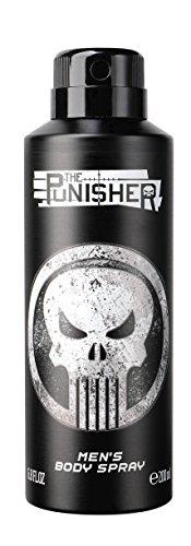The Punisher Men's Body Spray, Black & White, 6.8 - Body Punisher