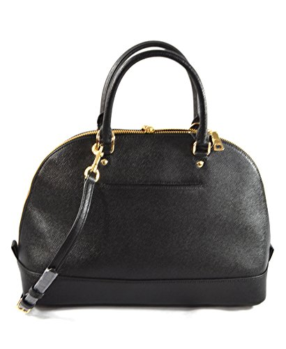 Coach Crossgrain Black Sierra Satchel Crossgrain Coach q7q8Zw